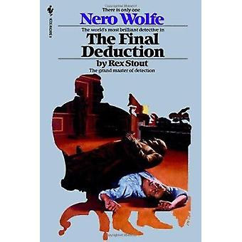 The Final Deduction (Nero Wolfe Mysteries) Book