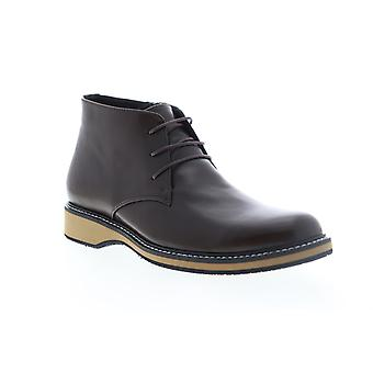 English Laundry Haddock  Mens Brown Leather Casual Dress Boots Shoes