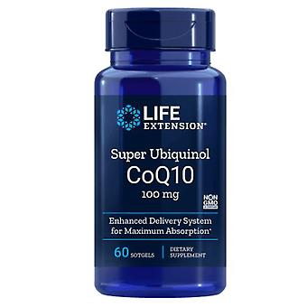 Super Ubiquinol CoQ10 100 mg (60 Softgels) - Przedłużenie życia