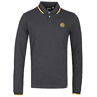 Hübsche grün Standard Langarm Kohle Polo Shirt