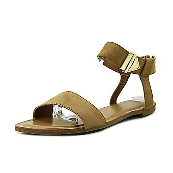Bar III Womens Victor Fabric Open Toe Casual Ankle Strap Sandals