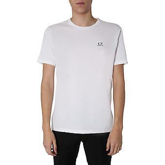 C.p. Company 08cmts148a005100w103 Men's White Cotton T-shirt