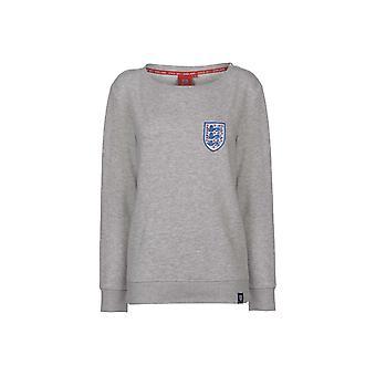 FA England Crew Neck Sweatshirt Ladies