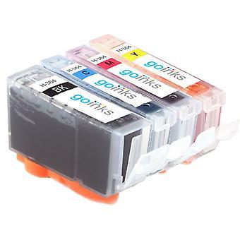 1 compatibele set van 4 HP 364 (HP364XL) inktcartridges