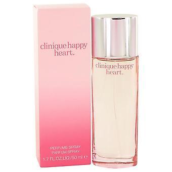 Cuore felice Eau De Parfum Spray da Clinique 1.7 oz Eau De Parfum Spray