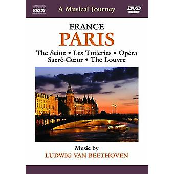 L.V. Beethoven - viagem Musical: Importação de Paris França [DVD] EUA