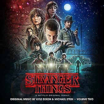 Dixon, Kyle / Stein, Michael - Stranger Things 2 (Original Series Soundtrack) [CD] USA import