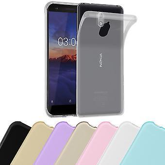Cadorabo Case for Nokia 3.1 2018 Case Cover - Mobile Phone Case made of flexible TPU silicone - Silicone Case Protective Case Ultra Slim Soft Back Cover Case Bumper