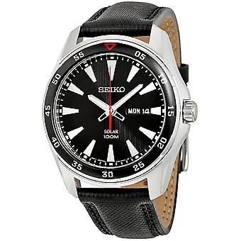 Seiko Solar Watch SNE393P2 - Kangas Gents Solar Analoginen