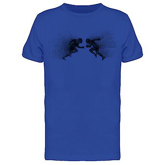 Charging Football Players Tee Men's -Image by Shutterstock