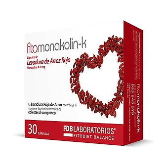 Fitomonakolin-k (Red Rice Yeast) 30 capsules