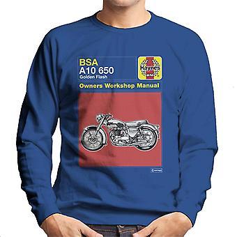 Haynes BSA Golden Flash A10 Besitzer Handbuch Männer's Sweatshirt