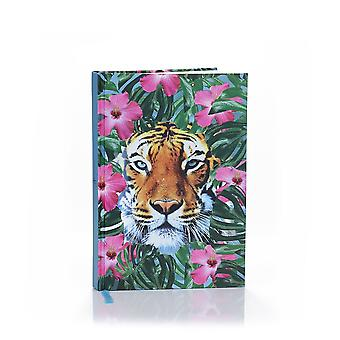 Wild Things A5 160 Page Hardback Notepad Journal Crouching Tiger