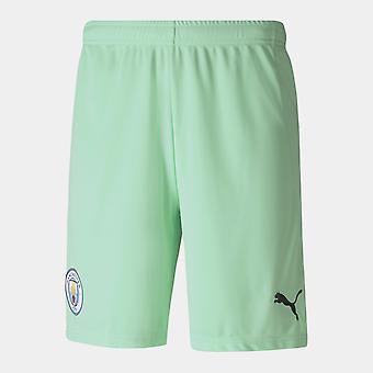 Puma Manchester City Home Goalkeeper Shorts 20/21 Kids