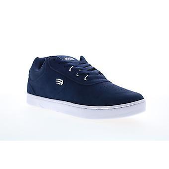Etnies Joslin Mens Blue Suede Lace Up Skate Sneakers Shoes