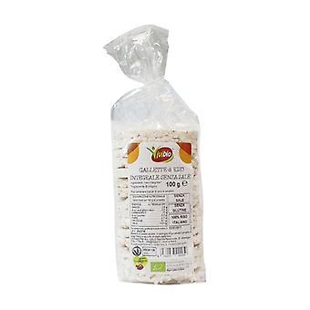 Glutenvrije zoutvrije rijstwafels 100 g