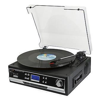 Technaxx Bluetooth-levy ja kasettimuunnin TX-22+, musta
