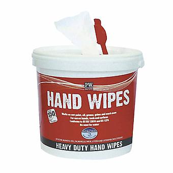 Portwest - Hand Wipes (150 Wipes) White PK150