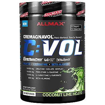 ALLMAX Nutrition, CVOL, Post-Workout Muscle Recovery, Coconut Lime Mojito, 13.2