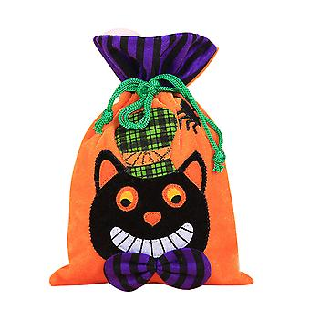 Candy bag trick or treat bag Halloween, festive party holiday supplies children's gift snack bag