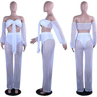 Ds Family Women's Sleeveless Bodycon Club Dress (Medium, White)