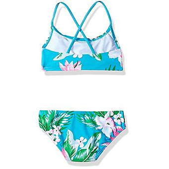 Kanu Surf Little Girls' Alania Flounce Bikini Beach Sport 2-Piece Swimsuit, F...