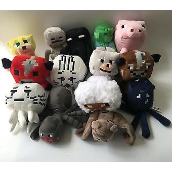 Minecrafted Peluche Jouet - Zombie, Chauve-souris , Wolf Stuffed Peluche Doll