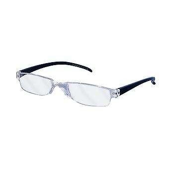 Reading Glasses Unisex Facile Black Strength +2.00 (le-0129A)