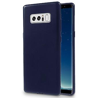 Coquille douce monocolore pour Samsung Galaxy Note 8 Thin Blue