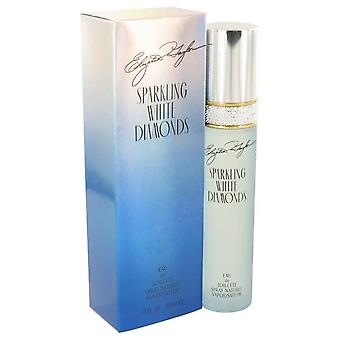 Sparkling White Diamonds Eau De Toilette Spray By Elizabeth Taylor 1.7 oz Eau De Toilette Spray