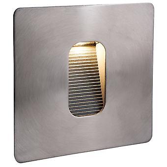 LED 1 Lumière de mur extérieur légère - Step Light Stainless Steel IP65