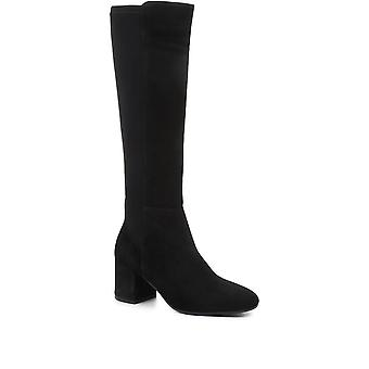 Jones Bootmaker Womens Bari Leather Knee-Boots