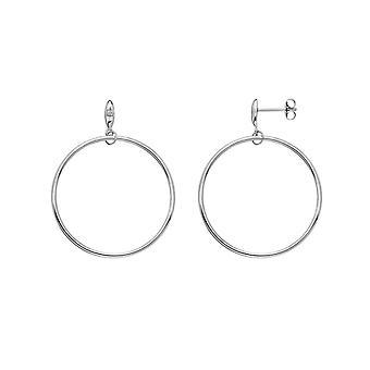 Hot Diamonds Sterling Silver Circle Grote Oorbellen DE630