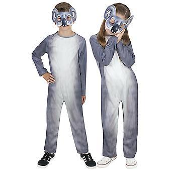Koala Bear Wild Animal Australia Book Week Toddler Girls Boys Costume 18-36M