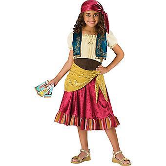 Gypsy Fortune Teller Halloween Girls Costume