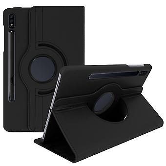 Back cover for Samsung Galaxy Tab S7 11.0 360 ° Rotating Support Function Black