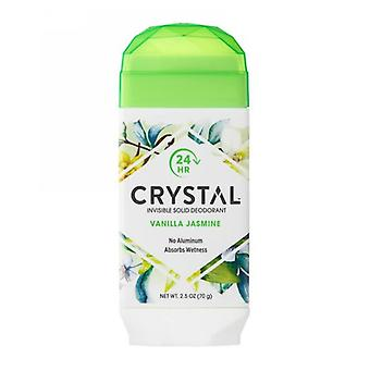 Crystal Body Deodorant Crystal Natural Deodorant Stick, Vanilla Jasmine 2.5 Oz
