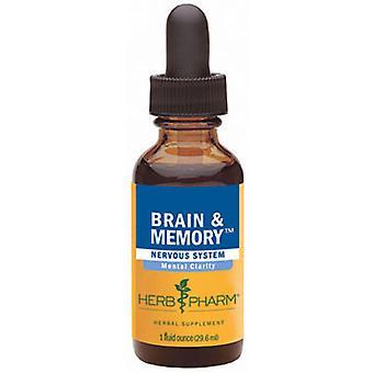 Herb Pharm Brain & Memory Tonic, 1 oz