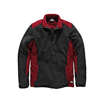 Dickies Two Tone Micro Fleece Red / Black - M (40-42in) DIC7011RBM