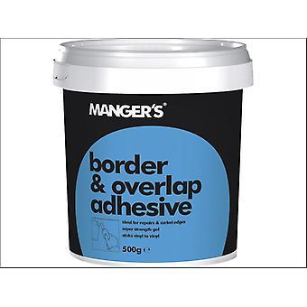 Mangers Border & Overlap Adhesive 500g