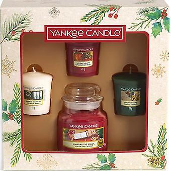 Giftset Yankee Candle 3 Votives & 1 Kleine Pot 2020