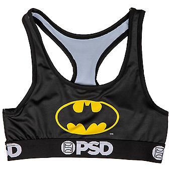DC Batman szimbólum mikroszálas blend sport melltartó