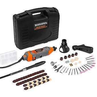 Terratek Rotary Multi Tool Kit 135W with 80pc Accessory Set & Storage Case
