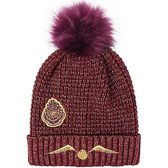 Harry Potter Bobble Beanie Golden Snitch