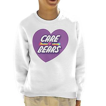 Gli orsi della cura sbloccano la felpa di Magic Purple Heart Kid