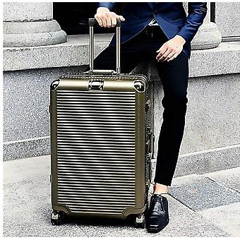 Aluminum Frame Hardside Travel Suitcase On Wheel Travel Bags