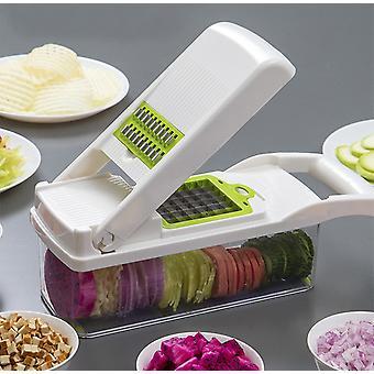 Cortador de verduras manual cortadora de frutas cortadora de patatas pelador zanahoria ralladora accesorios de cocina
