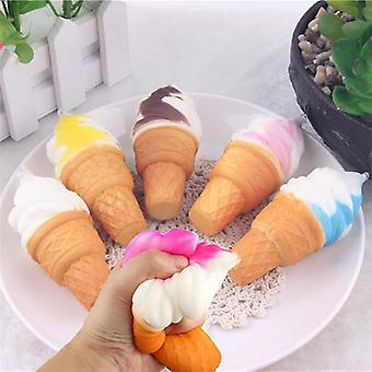 Squishy Squishies Soft Ice Cream Simulation Slow Rising