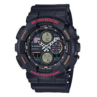 G-Shock Ga-140-1a4er Analog Digital Series Black Resin Men's Watch