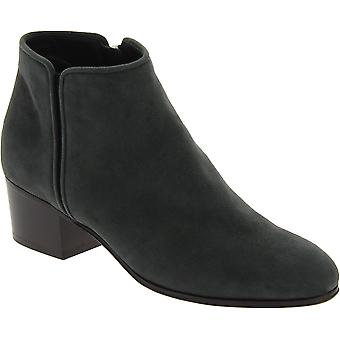 Zanotti women's ankle boots in anthracite suede